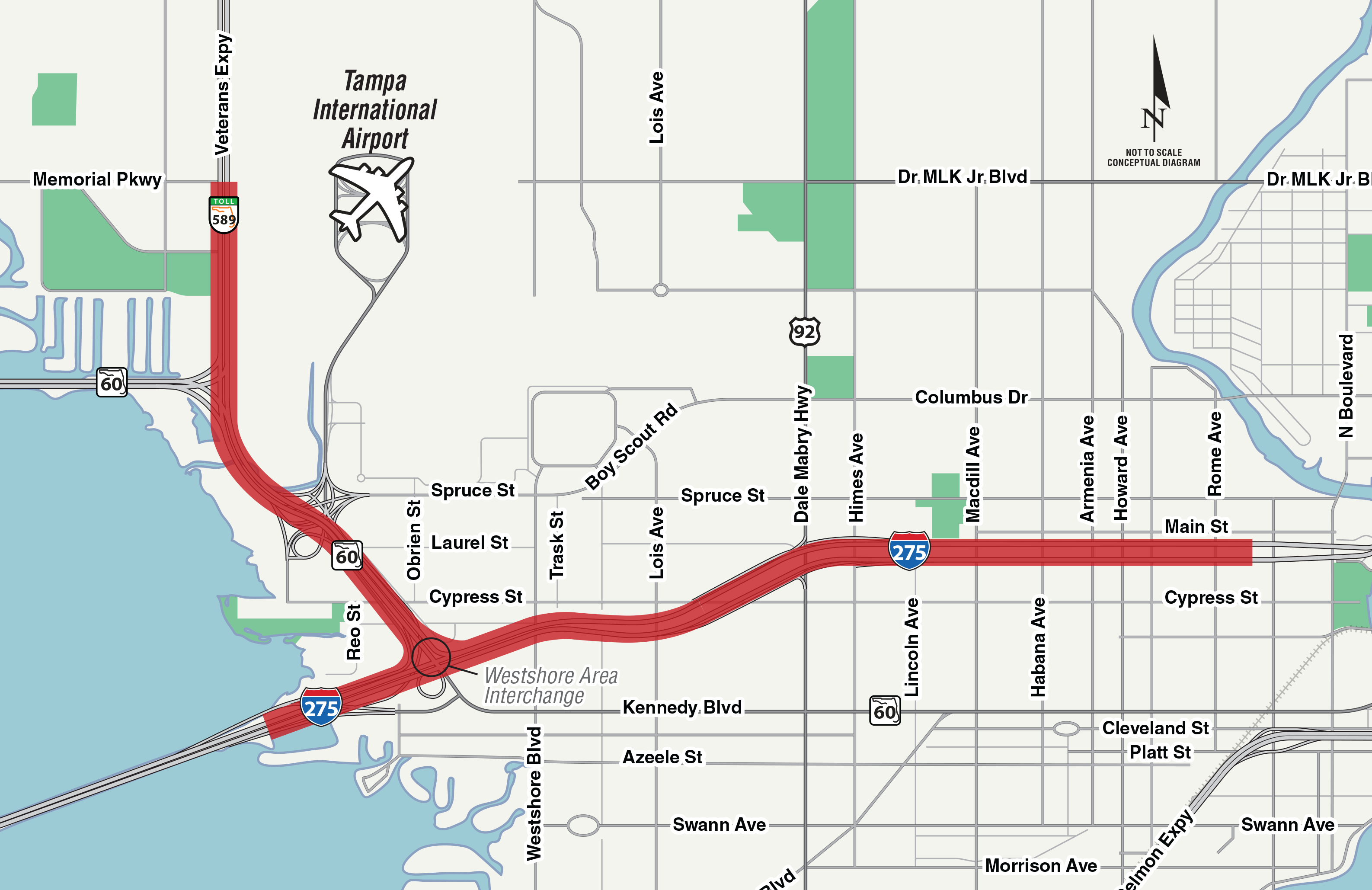 Westshore Area Interchange – Tampa Bay Next